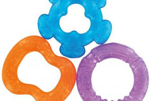 Hochet-anneau de dentition twist