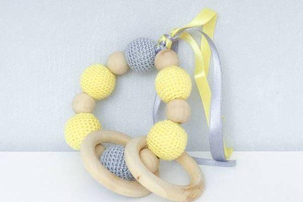 Tuto anneau de dentition perle