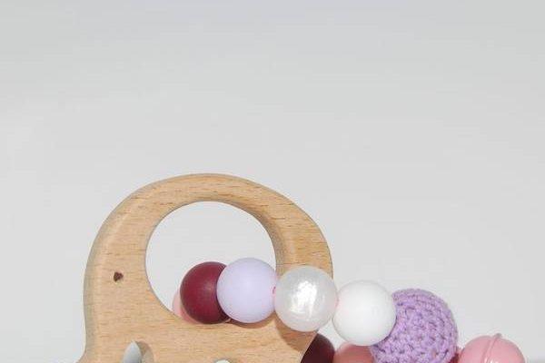 Hochet anneau de dentition infantino