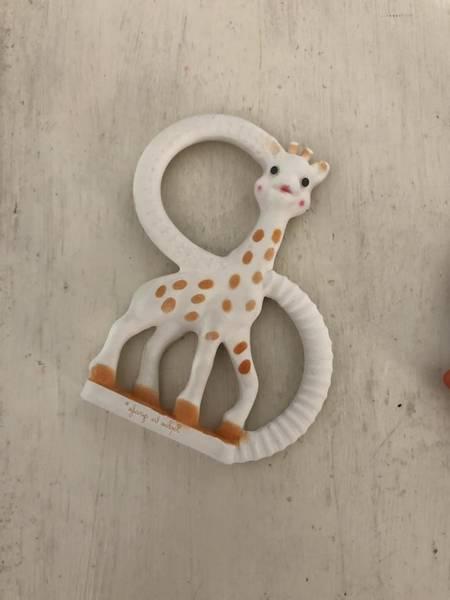 anneau de dentition sophie la girafe à la vanille