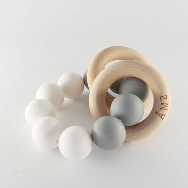 coffret cadeau mini miss anneau de dentition grenadine